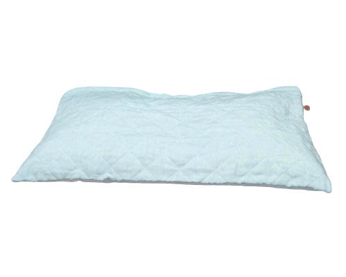 オーダーメイドネックフリー枕(麻パッドカバー付き)