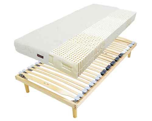 2m以上ロングサイズ電動ウッドスプリングベッドとラテックスマットレス